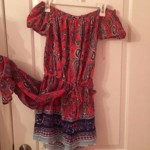 Romper with Overlay